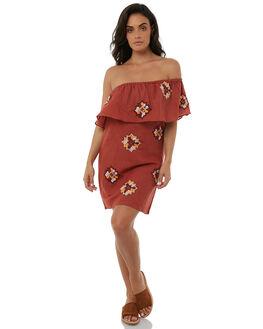TERRACOTTA WOMENS CLOTHING TIGERLILY DRESSES - T385419TERR