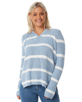 BLUE STRIPE OUTLET WOMENS SWELL KNITS + CARDIGANS - S8182151BLSTP