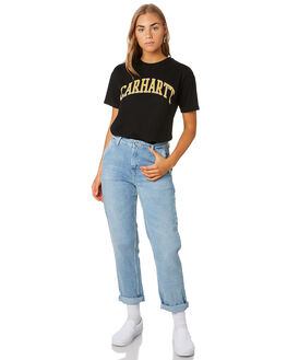 BLACK WOMENS CLOTHING CARHARTT TEES - I0264518900