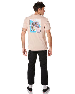 BASQUIAT ASH ROSE MENS CLOTHING HERSCHEL SUPPLY CO TEES - 50027-00447BSQAS