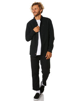 BLACK MENS CLOTHING GLOBE SHIRTS - GB01934001BLK