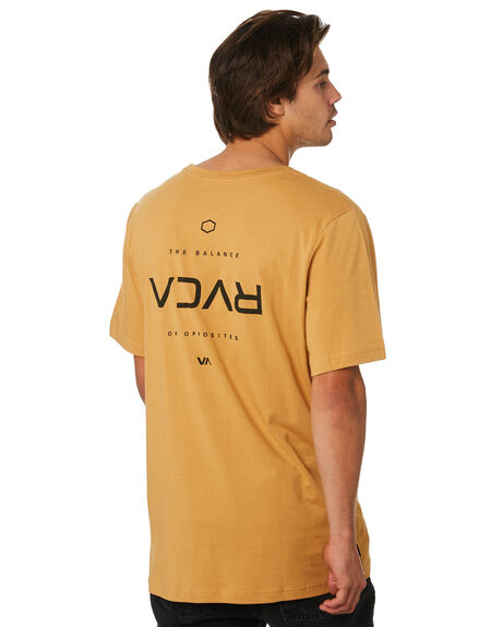 APPLE CINNAMON MENS CLOTHING RVCA TEES - R193042BAPPLE