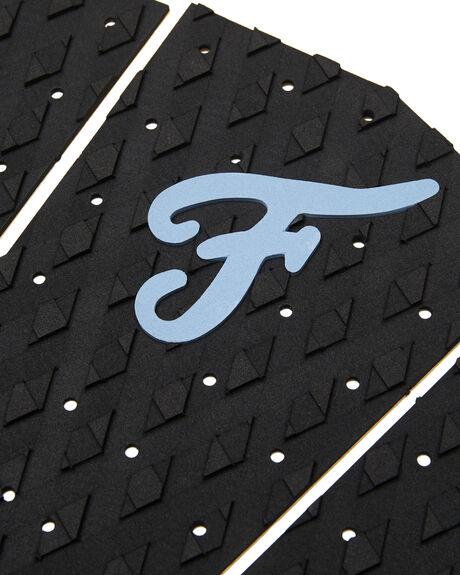 BLACK BLUE BOARDSPORTS SURF FAMOUS TAILPADS - FILL001BLKBL
