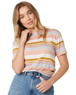 SPRING HUES WOMENS CLOTHING WRANGLER TEES - W-951513-MC6