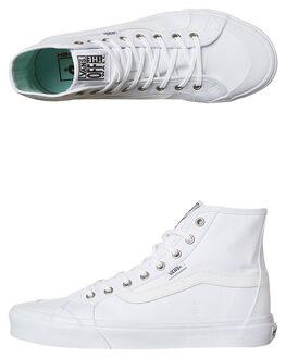TRUE WHITE WOMENS FOOTWEAR VANS SNEAKERS - VN0A38HRW00WHT