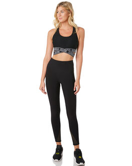 BLACK WOMENS CLOTHING LORNA JANE ACTIVEWEAR - 021919BLK