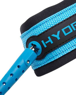 CHARCOAL BLUE BOARDSPORTS SURF HYDRO LEASHES - HLEACHB