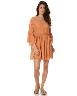 TERRACOTTA WOMENS CLOTHING ZULU AND ZEPHYR DRESSES - ZZ1512TERR