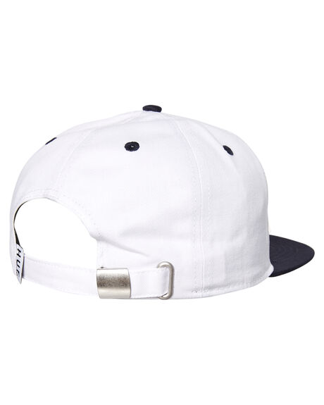 NAVY WHITE MENS ACCESSORIES HUF HEADWEAR - HT00201NVY