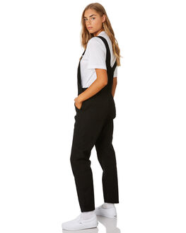 BLACK WOMENS CLOTHING CARHARTT PLAYSUITS + OVERALLS - I0239558902
