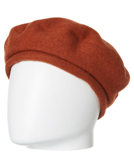 RUST OUTLET WOMENS BRIXTON HEADWEAR - 00192RUST