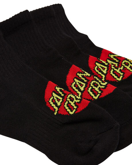 BLACK KIDS BOYS SANTA CRUZ SOCKS + UNDERWEAR - SC-YZA1550-6BLK