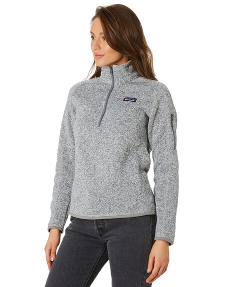 BIRCH WHITE WOMENS CLOTHING PATAGONIA JUMPERS - 25618BCW
