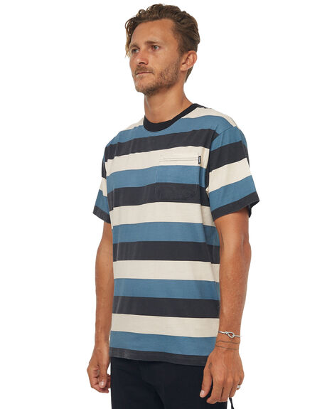 MULTI MENS CLOTHING AFENDS TEES - M181102MULTI