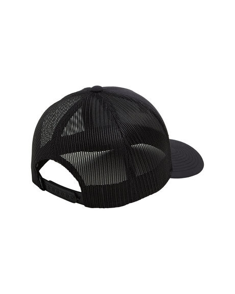 BLACK MENS ACCESSORIES RVCA HEADWEAR - RV-R307566-BLK