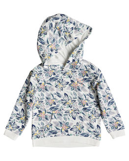 MARSHMALLOW FLOWER KIDS GIRLS ROXY JUMPERS + JACKETS - ERLFT03177-XMBW