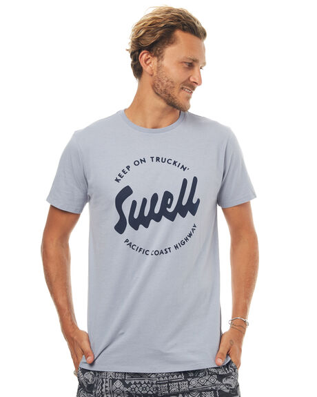 ARTIC BLUE MENS CLOTHING SWELL TEES - S5171004ARTBL