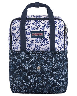 WHITE FIELD FLORAL WOMENS ACCESSORIES JANSPORT BAGS + BACKPACKS - JS0A3C4M-JS4Z9