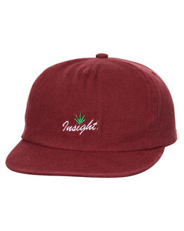 BURGUNDY MENS ACCESSORIES INSIGHT HEADWEAR - 5000000967BUR