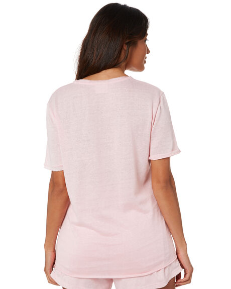 POWDER PINK OUTLET WOMENS ZULU AND ZEPHYR TEES - ZZ3301PPNK