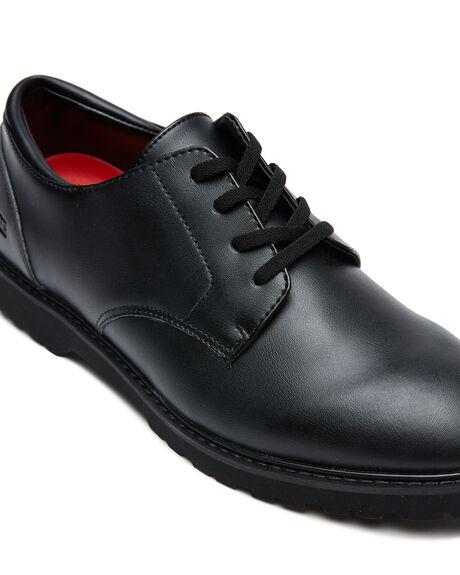 BLACK MENS FOOTWEAR GLOBE SNEAKERS - GBWOLFBTS-10006