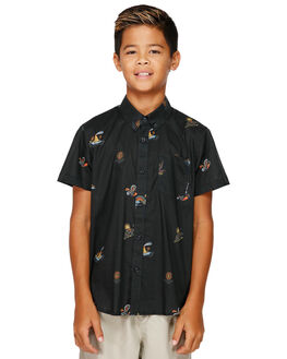 BLACK KIDS BOYS BILLABONG TOPS - BB-8591210-BLK