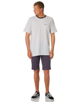 WHITE MENS CLOTHING VOLCOM TEES - A01118R1WHT