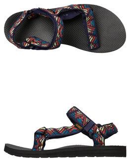 BOOMERANG WOMENS FOOTWEAR TEVA FASHION SANDALS - T1003987GBRN