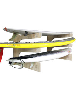 POLISHED PLYWOOD BOARDSPORTS SURF SOLID RACKS BOARD RACKS - SD-9183W