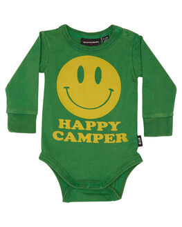 GREEN KIDS BABY ROCK YOUR BABY CLOTHING - BBB1812-HCGRN