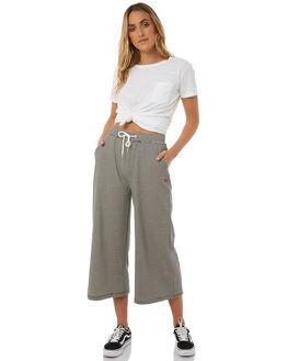 BLACK CREAM WOMENS CLOTHING STUSSY PANTS - ST185600BLKCR