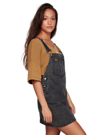 BLACK ACID WOMENS CLOTHING RVCA PLAYSUITS + OVERALLS - RV-R207759-252