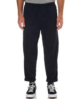 BLACK MENS CLOTHING POLAR SKATE CO. PANTS - PSCSURFNOCOMPBLK