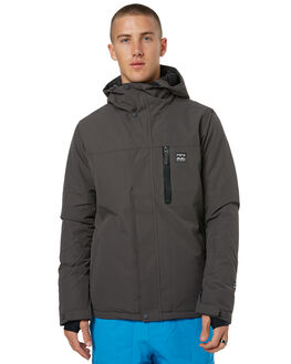 DARK GREY SNOW OUTERWEAR BILLABONG JACKETS - F6JM03DGRY