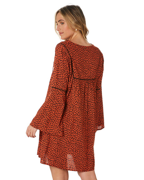 RUST SPOT WOMENS CLOTHING O'NEILL DRESSES - 5921601RSP
