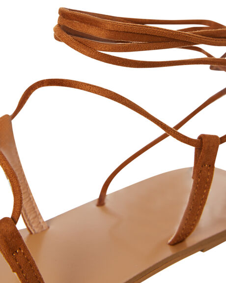 TAN SUEDE WOMENS FOOTWEAR BILLINI FASHION SANDALS - S631TANSD