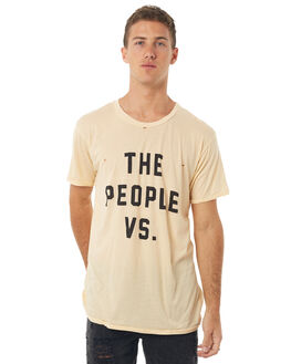 PEANUT SHELL MENS CLOTHING THE PEOPLE VS TEES - HS17011-PSPSHL