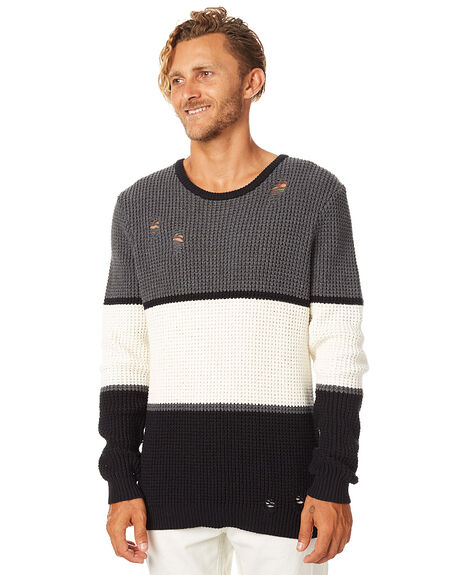 Afends Proof Mens Knit - Black | SurfStitch