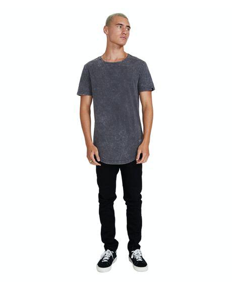 ACID BLACK MENS CLOTHING STANDARD JEAN CO TEES - 17111600026