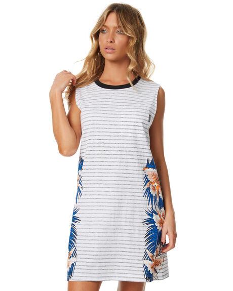 WHITE WOMENS CLOTHING RIP CURL DRESSES - GDRFC11000