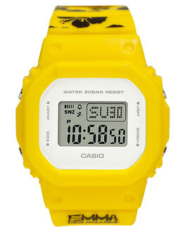 YELLOW BLACK WOMENS ACCESSORIES BABY G WATCHES - BGD560EM-9DYLWBK