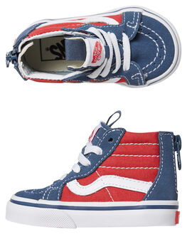 VINTAGE INDIGO RED KIDS TODDLER BOYS VANS FOOTWEAR - VNA32R3Q7VVINDI