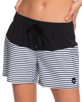 ANTHRACITE MARINA WOMENS CLOTHING ROXY SHORTS - ERJBS03134-KVJ4