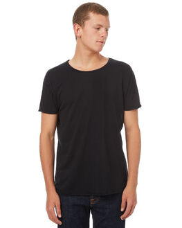 BLACK MENS CLOTHING NUDIE JEANS CO TEES - 131484B01
