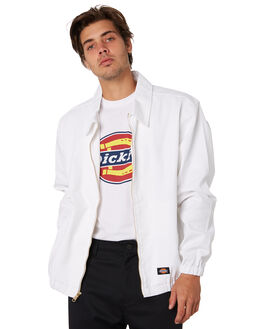 WHITE MENS CLOTHING DICKIES JACKETS - K1190604WH