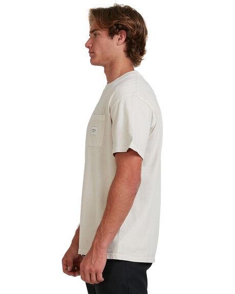 PARCHMENT MENS CLOTHING QUIKSILVER TEES - EQYKT04041-TEC0
