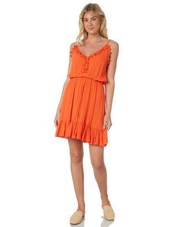 PERSIMMON WOMENS CLOTHING SASS DRESSES - 12283DWSSPERM