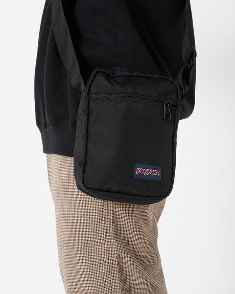 BLACK MENS ACCESSORIES JANSPORT BAGS + BACKPACKS - JS0A3C4G-JS008
