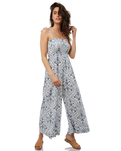 WHITE WOMENS CLOTHING TIGERLILY PLAYSUITS + OVERALLS - T385407WHITE