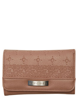 MUSHROOM WOMENS ACCESSORIES RIP CURL PURSES + WALLETS - LWUHH18543